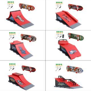 youn* Skate Park Ramp Parts for Tech Deck Fingerboard Finger Board Ultimate Parks New