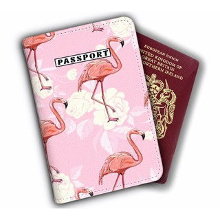 Bao Da Hộ Chiếu PassPort Cover - Ví Đựng Passport FLAMINGO STORMBREAKER - LT030 thumbnail