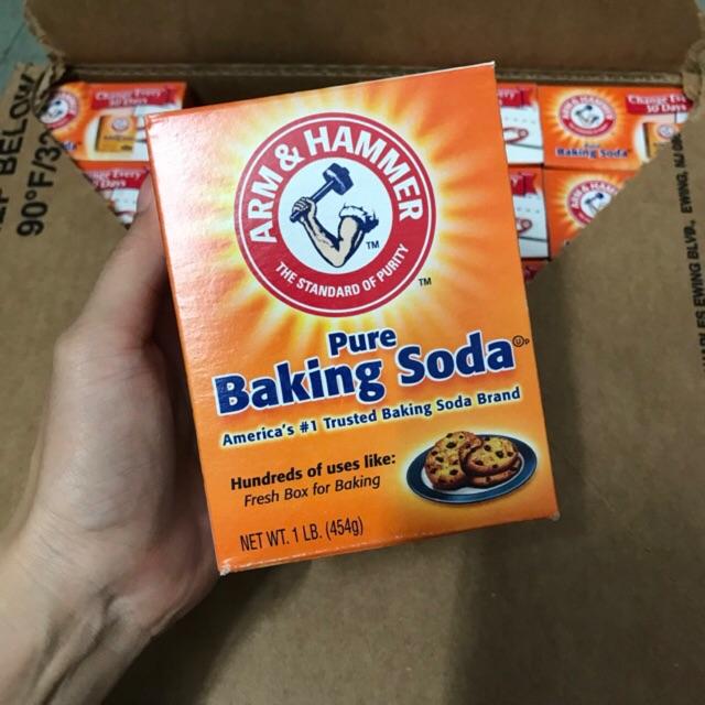 Bột Baking Soda Arm & Hammer 454g (thuốc muối, bột nổi)