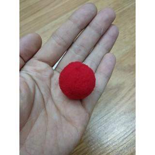 Pom Pom cao cấp 3cm tặng kèm 1 kẹp gắp nhựa