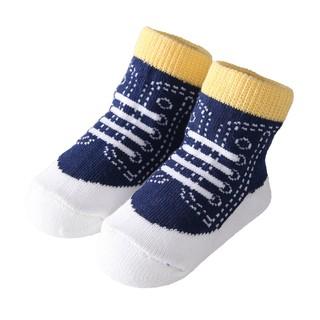 Vớ ngắn Sanlutoz bằng cotton mềm mại cho em bé(Ngẫu Nhiên)