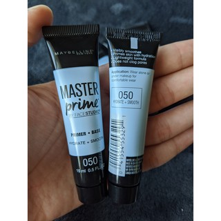 Kem lót nền dưỡng ẩm MAYBELLINE Master Prime Hydrate and smooth 15ml