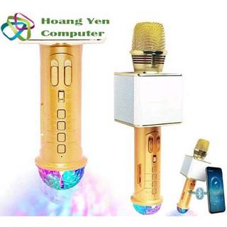 Micro Karaoke Bluetooth SD09L kèm đèn vũ trường – BH 6 tháng