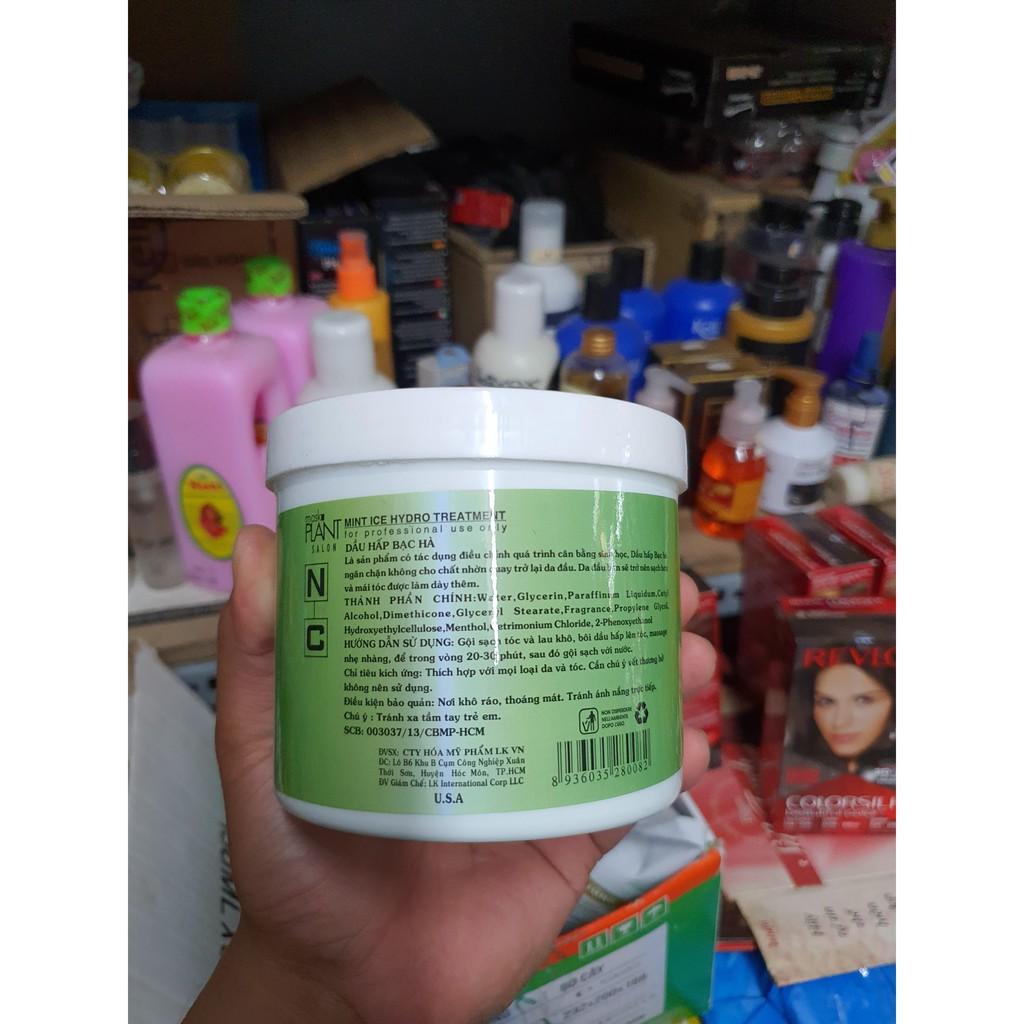 HẤP DẦU BẠC HÀ - NATURAL CARE MINT ICE - 500/1000ML