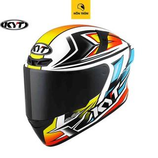 Nón bảo hiểm fullface KYT TT Course tem Kasma Daniel