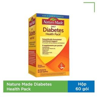 Thực phẩm chức năng Điều Hòa Tiểu Đường Nature Made Diabetes Health Pack 60 Gói