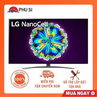 [Mã ELMSHX03 hoàn 6% xu đơn 2TR] [GIAO HCM] Smart Tivi NanoCell LG 4K 55 inch 55NANO86TNA thumbnail