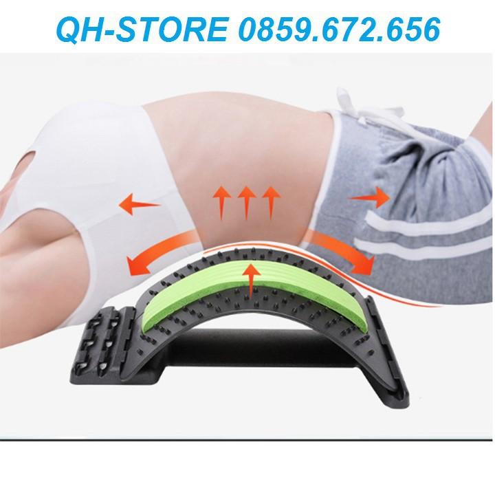 Dụng cụ tập lưng Dụng cụ hổ trợ tập lưng massage cột sống giúp thoát vị đĩa đệm, đau vai gáy đau lưng thoái hóa cột sống