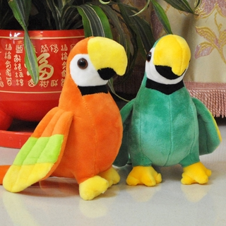 Zymaoyi1 20cm Simulation Parrot Doll Plush Toy Little Bird Ragdoll Child Doll Birthday Gift Stuffed Toys