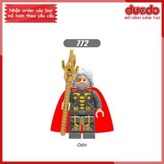 Minifigures thần Odin chúa tể Asgard – Đồ Chơi Lắp Ghép Xếp Hình Mini Non LEGO Iron Man