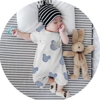 Áo liền quần tay ngắn thời trang cao cấp dành cho em bé