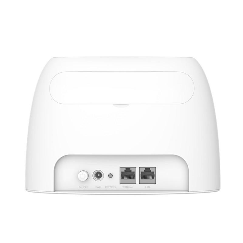 Bộ Phát Wifi 4G LTE Dùng Từ Sim Tenda 4G03 1 LAN - Phát 4G MIXIE 3 Cổng LAN Chuẩn N300Mb ( 4G Huawei ) - Chính Hãng