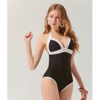 Bikini liền thân trơn push up viền màu nữ Air Space 2020110008 thumbnail