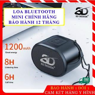 [Freeship] Loa Bluetooth mini nhỏ gọn - không dây chính hãng S12 - Pin khoẻ, chuẩn bass, khe thẻ nhớ, cắm USB bảo hành thumbnail