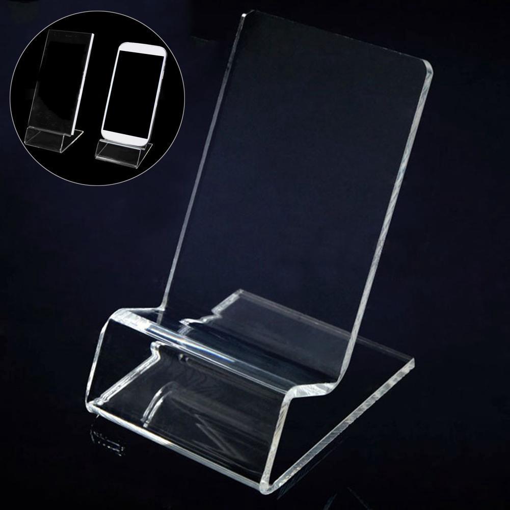 Giá để điện thoại bằng acrylic trong suốt