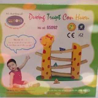 Đường trượt con Hươu Winwintoys 65092 – Đồ chơi lý thú cho trẻ
