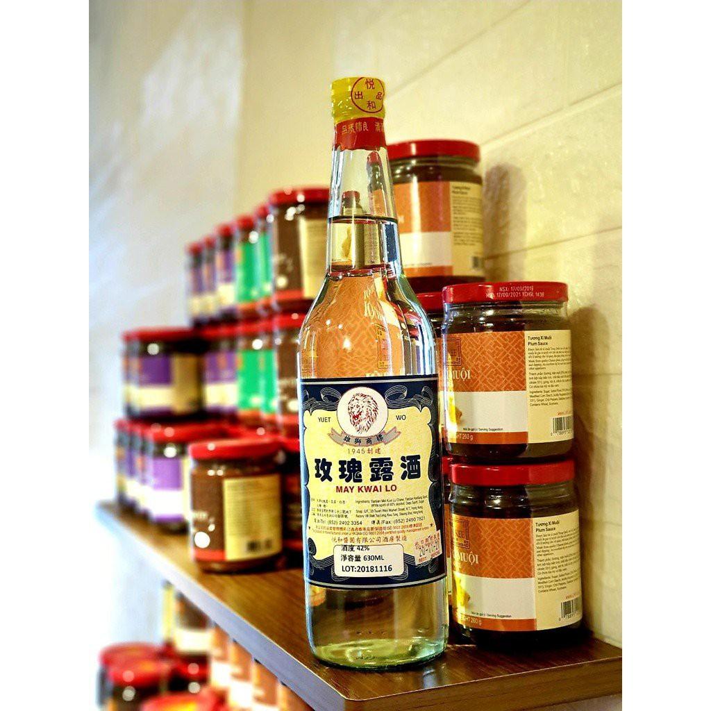 Rượu Mai Quế Lộ HongKong 630ml/ Gia Vị Nấu Ăn Mai Quế Lộ 630ml/ Gia Vị Lên Men Mai Quế Lộ/ May Kwai Lo