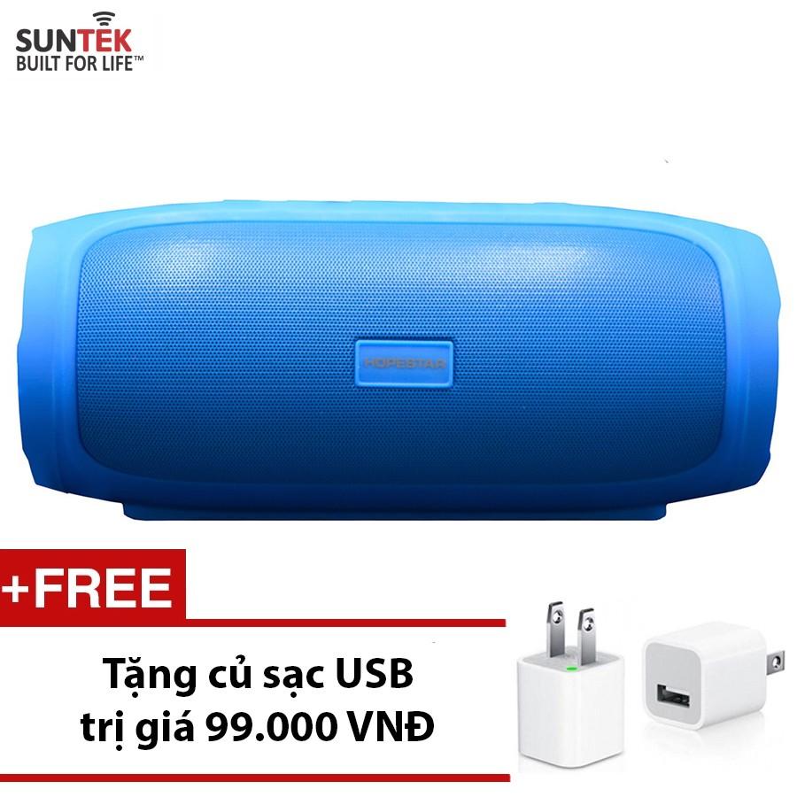Loa Bluetooth SUNTEK HOPESTAR H14 (Xanh)