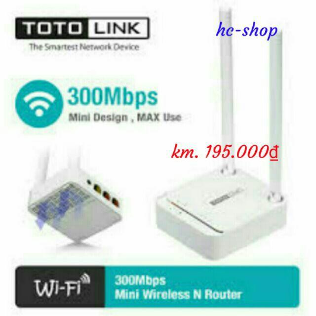 Totolink N200re full box