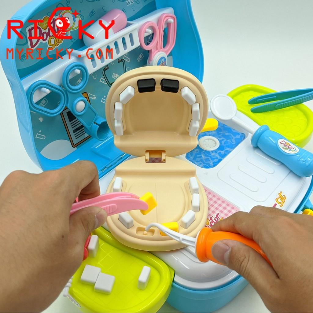 Bộ đồ chơi Bác Sĩ khám răng