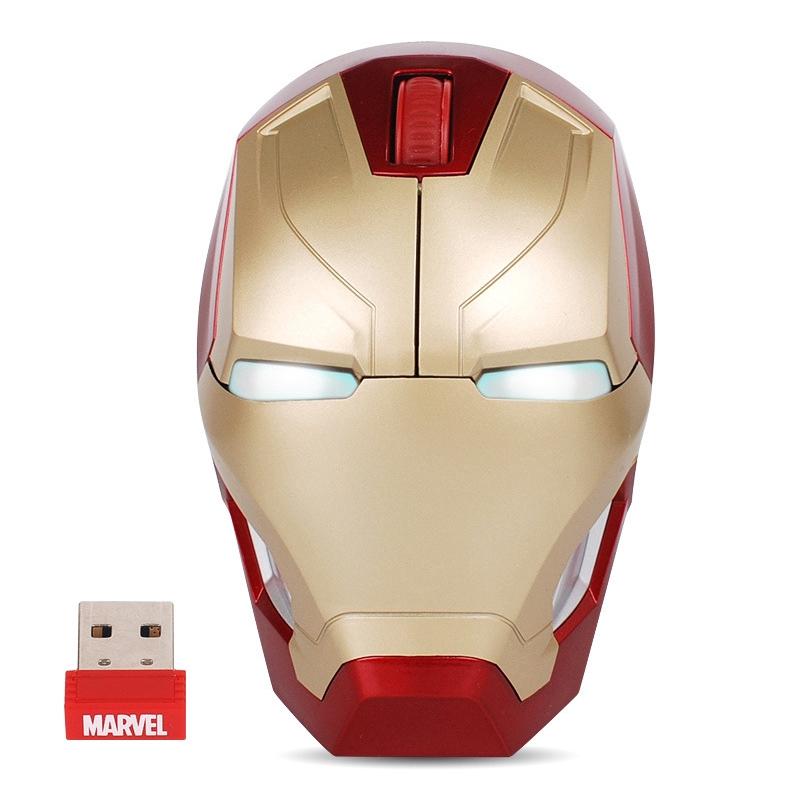 MK46 Iron Man Genuine Authorization High Quality Popular MARVEL Wireless Mouse
