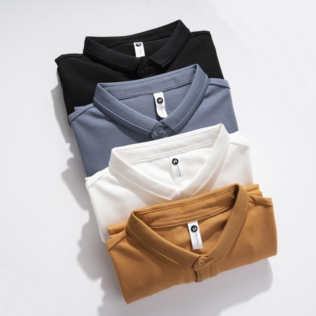 Mặc gì đẹp: Thời trang với Áo Polo Công Sở Nam Đẹp Chính Hãng Local Brand TONY4MEN Chất Vải CVC Kiểu Dáng Basic Nhiều Màu 4010