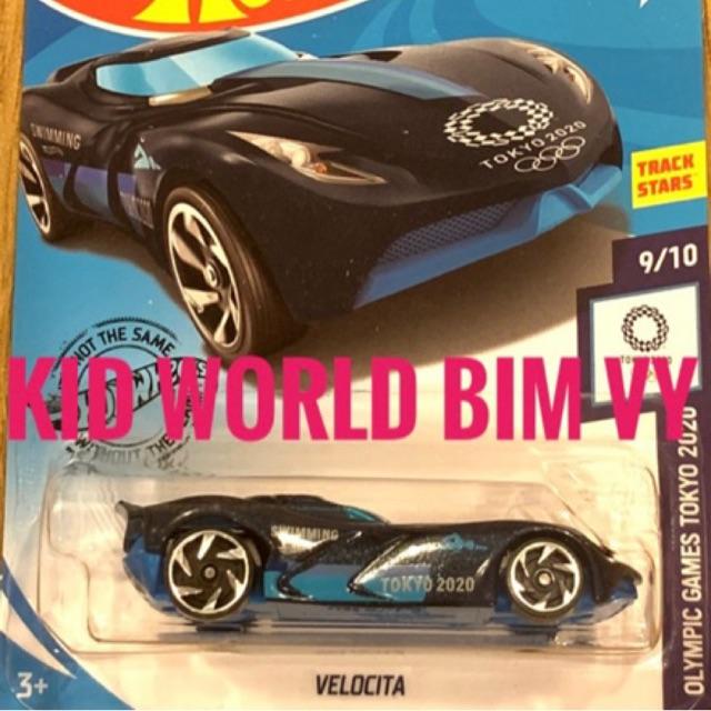 Xe mô hình Hot Wheels basic Velocita GHC99, 30K.