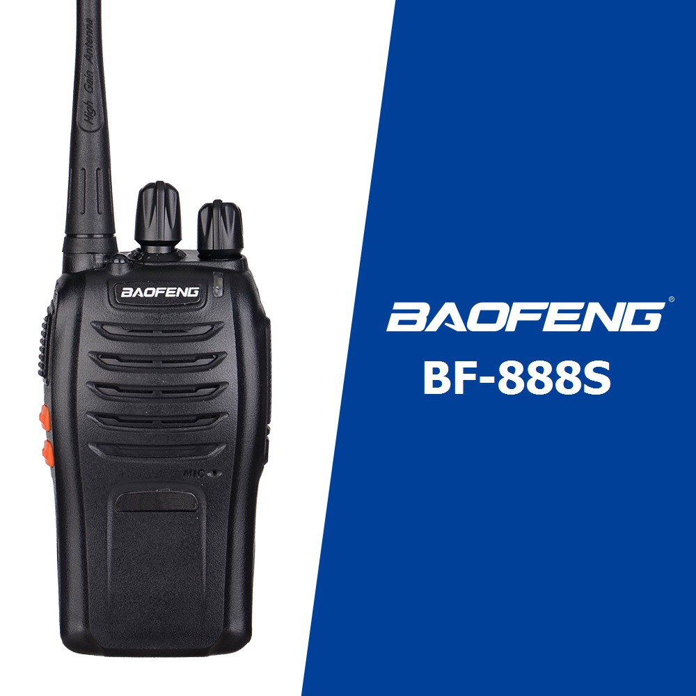 Bộ đàm Baofeng BF888S + Tai Nghe Chuyên Dụng BF-888S - BH:12 Tháng