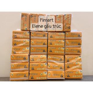 [CHÍNH HÃNG] Thùng 30 gói giấy ăn Elene lụa tre hàng công ty