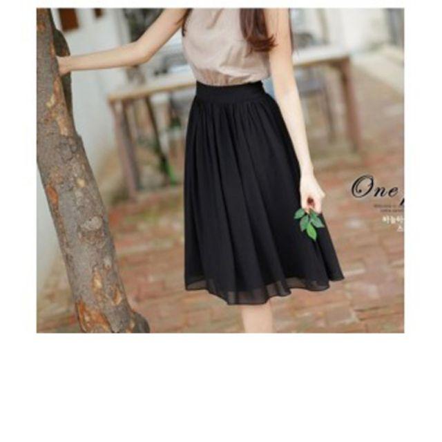 Chân váy von nữ mẫu mới Cv07