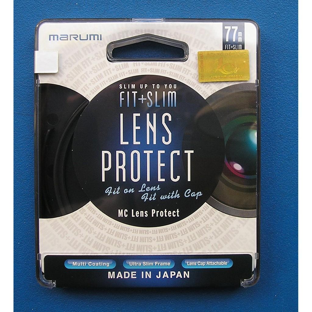 Kính Lọc Marumi Fit&Slim Lens Protect 77mm
