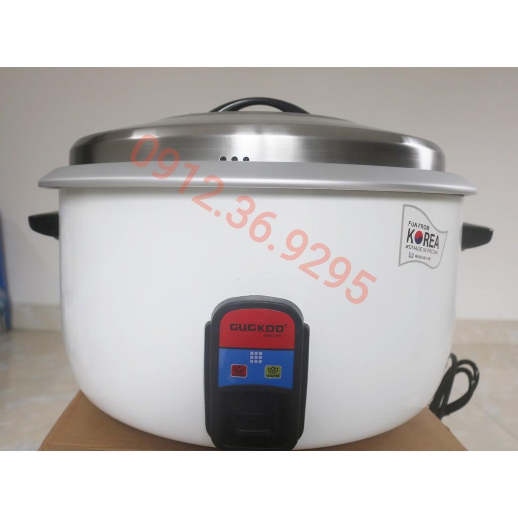 Nồi Cơm Điện Công Nghiệp GUGKOO 28 LÍT 3800W Nấu Được 8 Kg Gạo