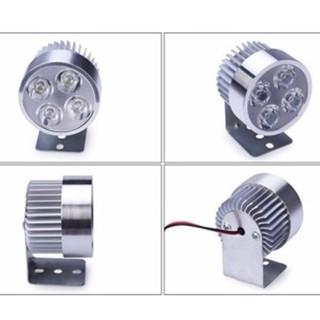 Đèn pha trợ sáng 4 LED cho xe máy, xe điện (so so nice - màu trắng- new) F [SKM] thumbnail