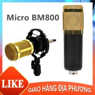 Micro thu âm chuyên nghiệp - (Micro live stream,karaoke online cực hay) Mạng karaoke tụ micro thu âm karaoke [HTBM800] thumbnail