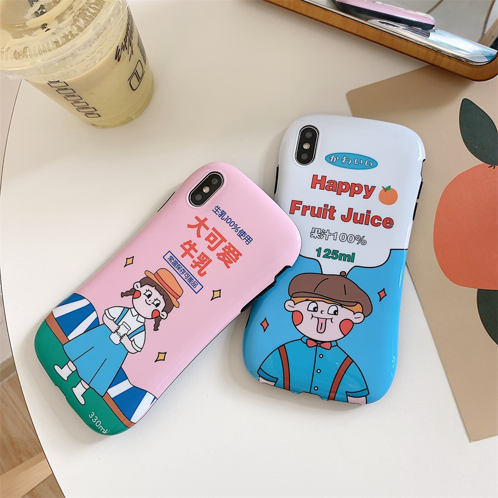 smooth IPhone7/8/7P/8P case back  cover cute tpu for girls nice touch