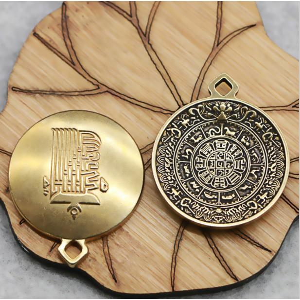 Tượng Đồng: Mặt Dây Chuyền Nhiều Mẫu -Vật Phẩm Phong Thủy