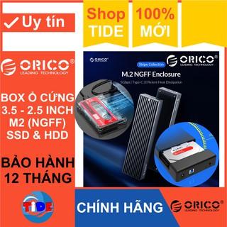 Box ổ cứng Orico 3.5 2.5 và M2 CHÍNH HÃNG Bảo hành 12 tháng Box HDD Box SSD - NVMe - NGFF thumbnail