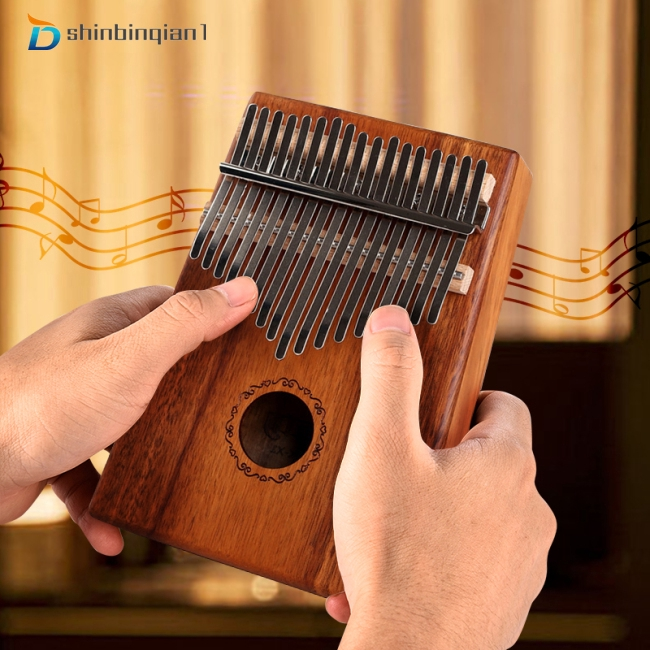 17 Keys Kalimba Mbira Calimba African Thumb Piano Finger Percussion