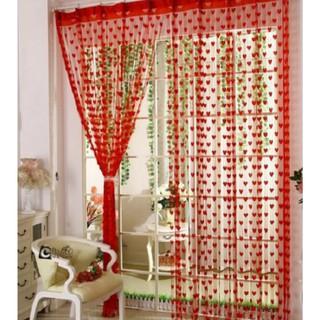 Yêu ThíchRèm cửa sổ trang trí phòng ngủ, phòng khách họa tiết trái tim lãng mạn (1mx2m) AA