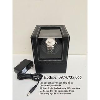 Hộp xoay đồng hồ cơ - Lên dây cót, duy trì cót đồng hồ cơ - Hộp lắc đồng hồ cơ thumbnail