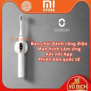[BẢN QUỐC TẾ]Bàn chải điện thông minh Xiaomi Oclean X với màn hình cảm ứng, sạc nhanh, kết nối app, chống nước IPX7