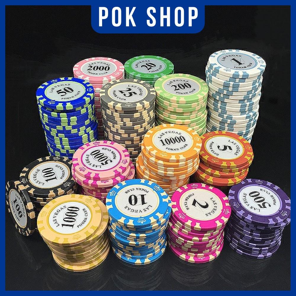 [POK Shop] Chip Poker Las Vegas (Chip lẻ – Phỉnh Poker)