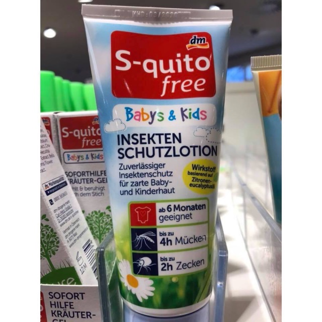 Kem chống muỗi Đức S-quito free - 14804831 , 1993064388 , 322_1993064388 , 220000 , Kem-chong-muoi-Duc-S-quito-free-322_1993064388 , shopee.vn , Kem chống muỗi Đức S-quito free