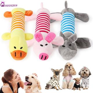 Ready Pet Dog Cat Funny Fleece Durability Plush Dog Toys Squeak Chew Sound Toy Queen