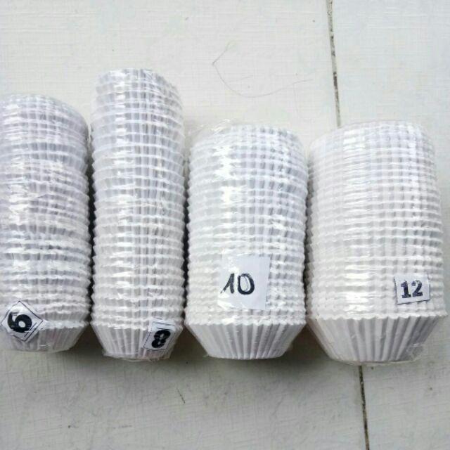 Cup giấy mềm lót đế bánh.