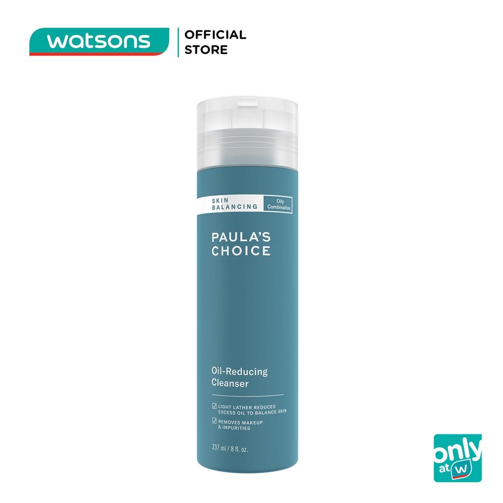 [Mã WATSONS12 -12% đơn 500K] Sữa Rửa Mặt Paula's Choice Skin Balancing Cân Bằng Độ Ẩm Và Giảm Dầu 237ml
