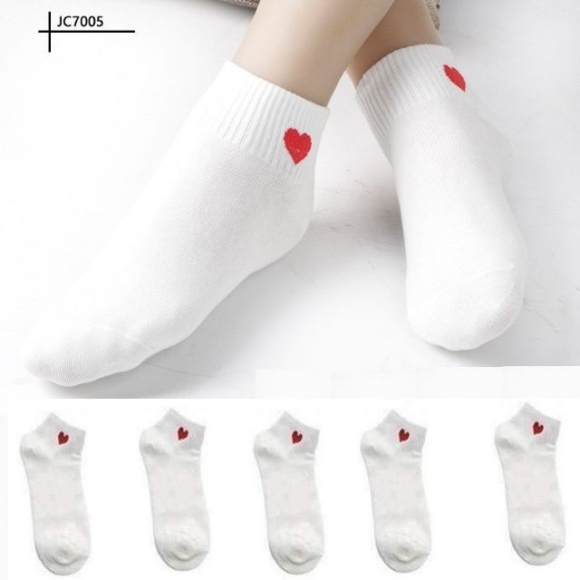 Combo 4 đôi tất nữ HAPU  kiểu Hàn Quốc cổ ngắn , co giãn 4 chiền ( nhiều màu )