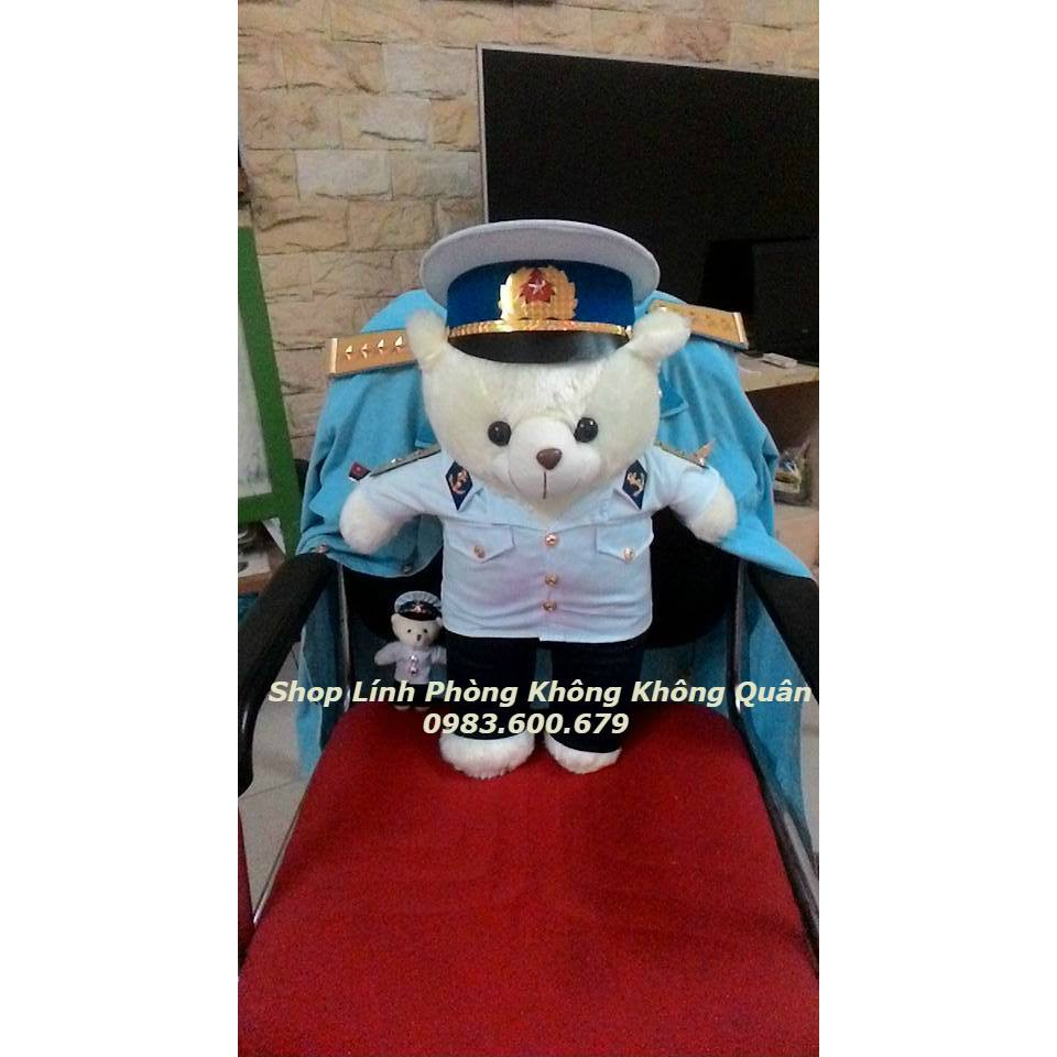 Gấu Bông Bộ Đội Hải Quân 55 cm