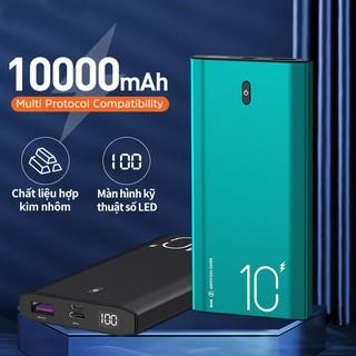 Kivee PT06D 22.5W Sạc dự phòng dung lượng 10000mah công suất tích hợp màn hình đèn led tiện dụng thumbnail