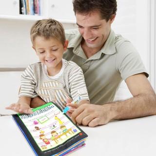 Sách vải tô màu nước thần kì siêu thú vị dành cho các bé